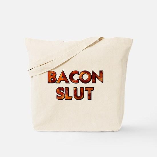 Bacon Slut Tote Bag