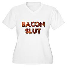 Bacon Slut Plus Size T-Shirt