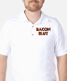 Bacon Slut Golf Shirt