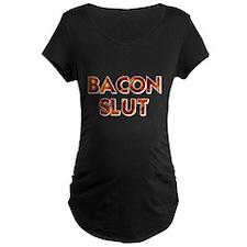 Bacon Slut Maternity T-Shirt