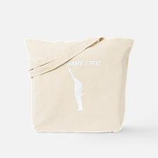 Custom Black Power Tote Bag