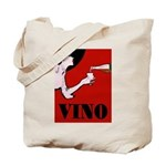 Vino Vintage Lady Tote Bag