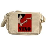 Vino Vintage Lady Messenger Bag