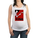 Vino Vintage Lady Maternity Tank Top