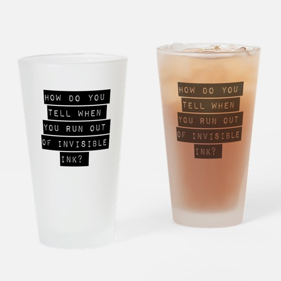 How Do You Tell When You Run Out Drinking Glass