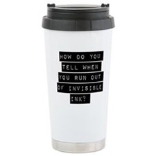 How Do You Tell When You Run Out Travel Mug