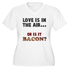 Is it bacon Plus Size T-Shirt