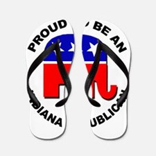 Proud Indiana Republican Flip Flops
