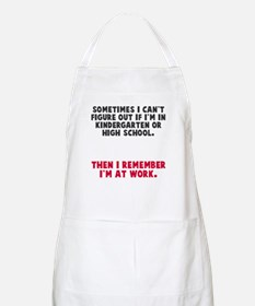 At work Apron
