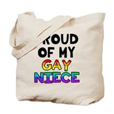 Gay Niece Tote Bag