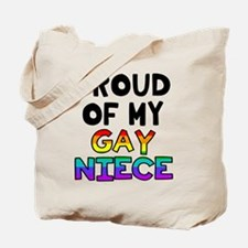 Gay Niece Tote Bag