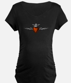 Crown Flying Heart T-Shirt