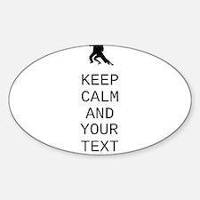 Keep Calm Dance Couple - Customize Decal