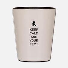 Keep Calm Dance Couple - Customize Shot Glass