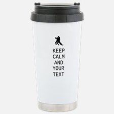 Keep Calm Dance Couple - Customize Travel Mug