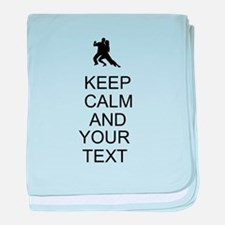 Keep Calm Dance Couple - Customize baby blanket