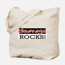 Cleavage Rocks!  Tote Bag