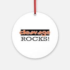 Cleavage Rocks!  Ornament (Round)