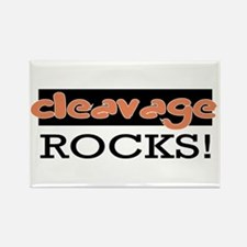 Cleavage Rocks! Rectangle Magnet (10 pack)