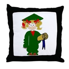 Grammar School Graduate Throw Pillow