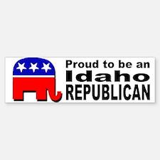 Proud Idaho Republican Bumper Bumper Sticker