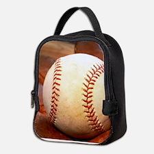 Baseball and glove Neoprene Lunch Bag
