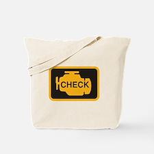 Check Engine Light Tote Bag