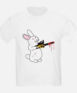 Bunny With Chainsaw T-Shirt