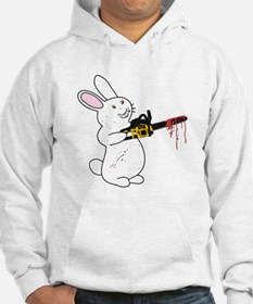 Bunny With Chainsaw Hoodie