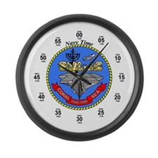 USS Coral Sea CVA-43 Large Wall Clock