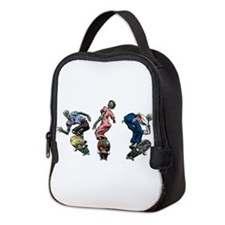 Zombie Skaters Neoprene Lunch Bag