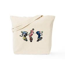 Zombie Skaters Tote Bag
