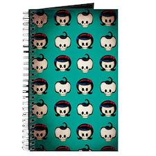 Rockabilly Skulls Pattern Journal