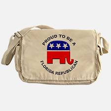 Proud Florida Republican Messenger Bag