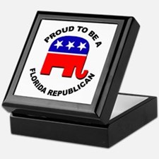 Proud Florida Republican Keepsake Box