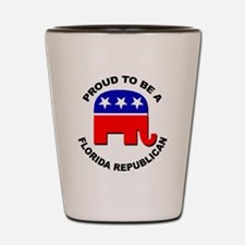 Proud Florida Republican Shot Glass