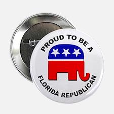 """Proud Florida Republican 2.25"""" Button"""