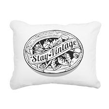 Stay Vintage Rectangular Canvas Pillow