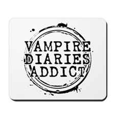 Vampire Diaries Addict Mousepad