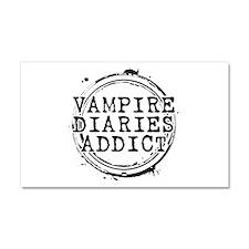 Vampire Diaries Addict Car Magnet 20 x 12