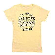 Vampire Diaries Addict Girl's Tee