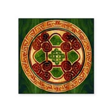Harvest Moons 4 Knot Celtic Mandala Sticker