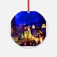 Chicago 002 Ornament (Round)