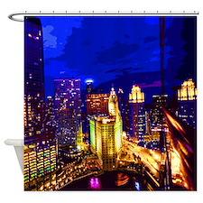 Chicago 002 Shower Curtain
