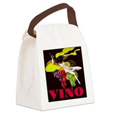 Wine Maid Vino Canvas Lunch Bag