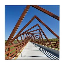 High Trestle Trail Bridge Tile Coaster