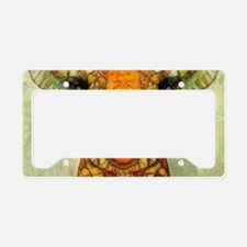 Cute Safari License Plate Holder
