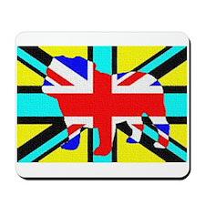 Inverted British Bulldog Mousepad