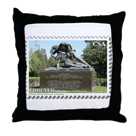 Kirklands Throw Pillow Covers : Kirkland Monument - Fredericksburg Throw Pillow by CivilWar1861to1865Part2