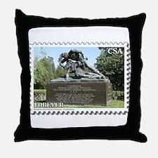 Kirkland Monument - Fredericksburg Throw Pillow